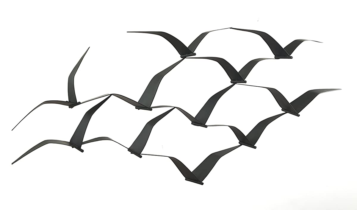 Soaring Seagulls - Metal Wall Art
