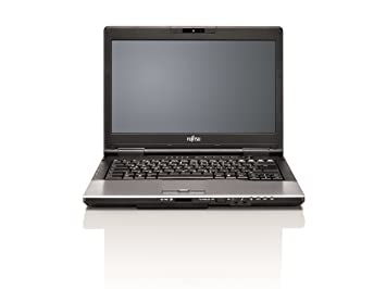 "Fujitsu S752 Ordinateur Portable 14 "" Windows 7 Professional Noir, Argent"