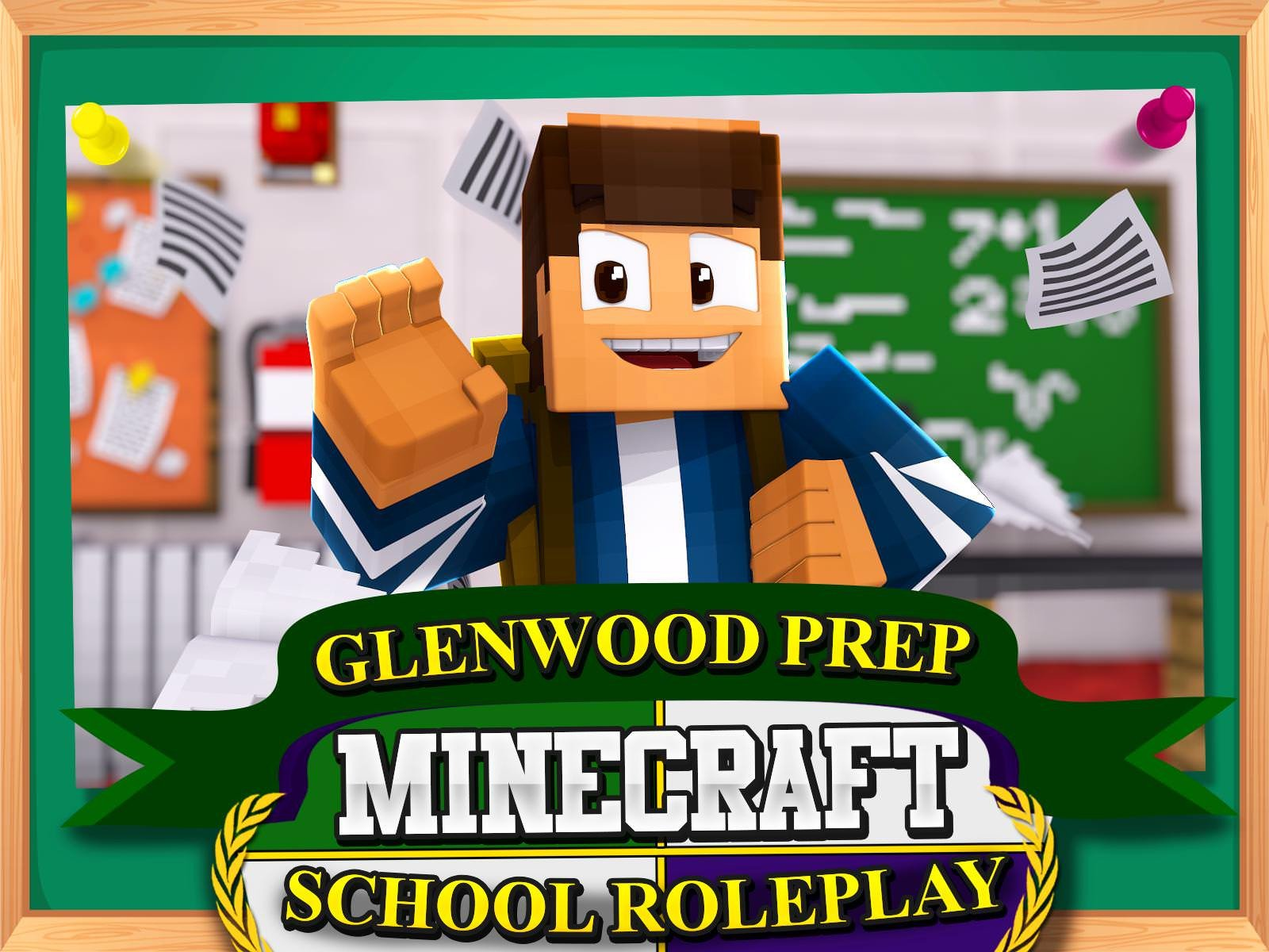 Clip: Glenwood Prep: Minecraft School Roleplay - Season 1