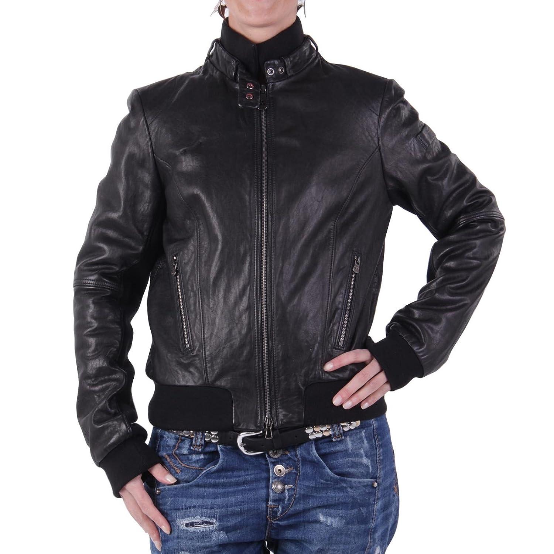 PEUTEREY Damen Winter Lederjacke Eva Black 2. Wahl online kaufen