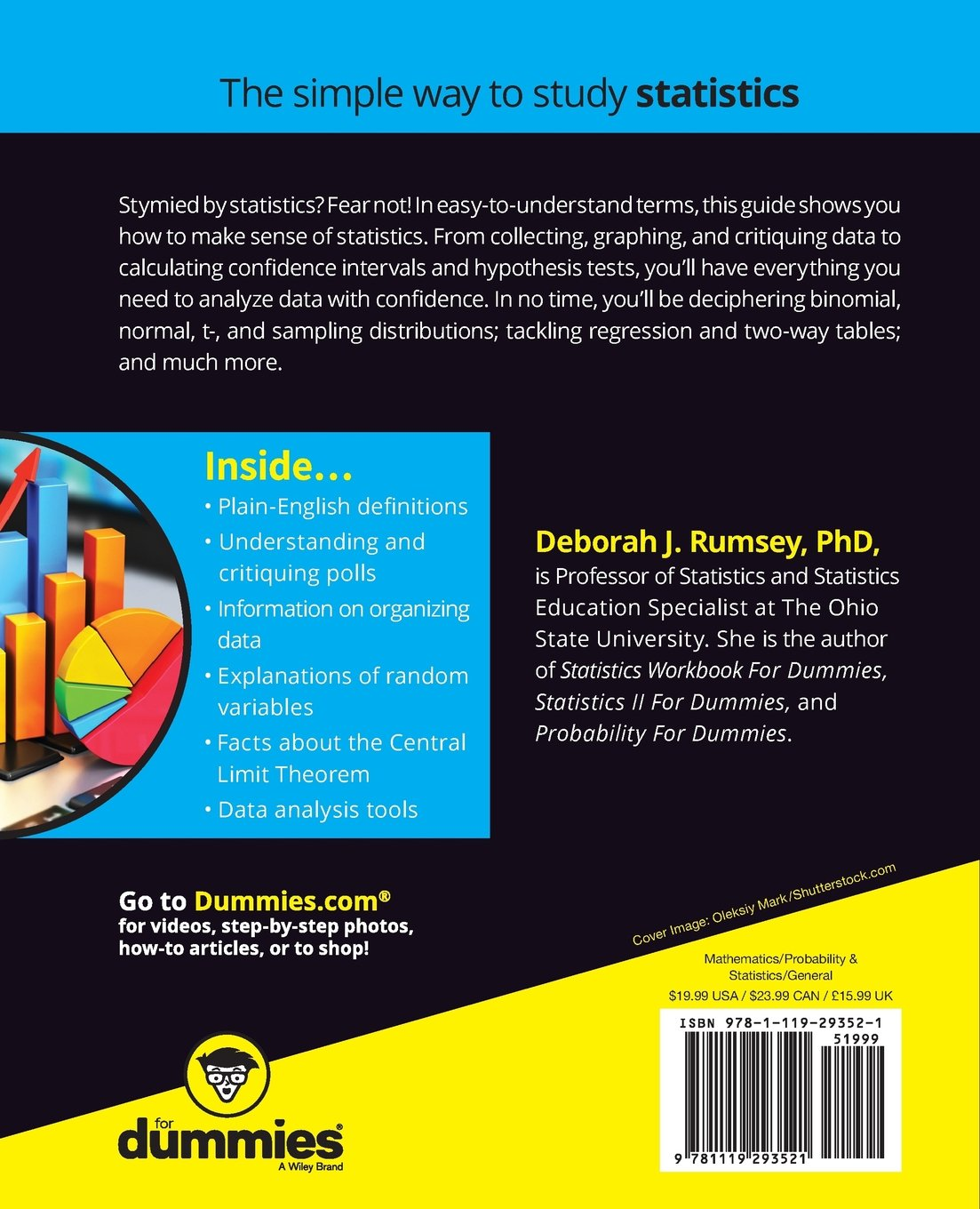 Buy Statistics For Dummies Book Online At Low Prices In India Statistics  For Dummies Reviews &