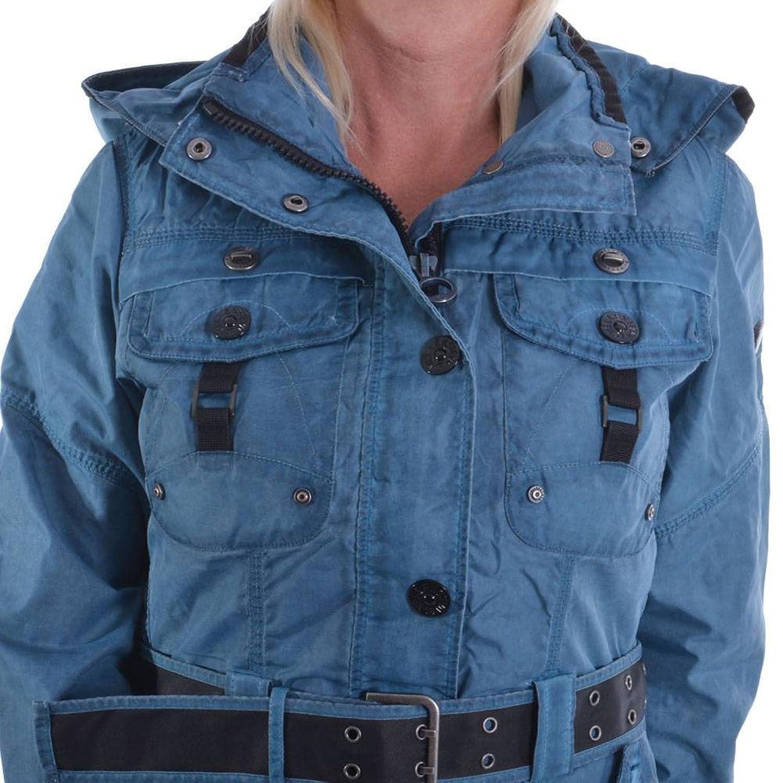 Wellensteyn Chocolate COC-472 iceblue Damen Jacke Größe XS Blau SprayTec