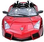 Jay Battery Operated Ride On Lamborgini Sports Car Red