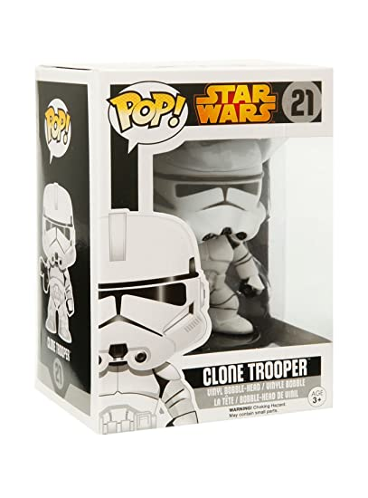 Funko - Figurine Star Wars - Clone Trooper Pop 10cm - 0849803060381