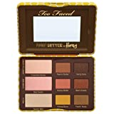 Too Faced Peanut Butter and Honey Eyeshadow Palette Collection 0.39 OZ (Color: Peanut Butter and Honey, Tamaño: One Size)
