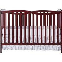 Dream On Me Chelsea 5-in-1 Convertible Crib (Cherry)