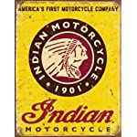 Indian Motorcycles Since 1901 Tin Sign 13 x 16in