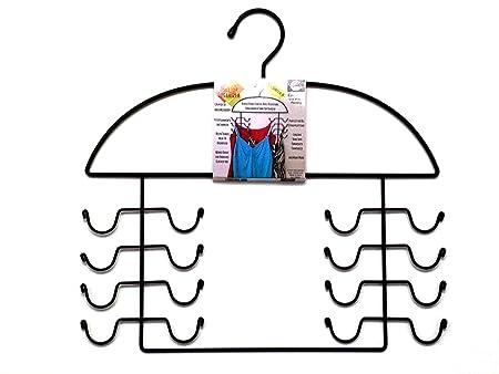 Women's sport Tank Top, Cami, Bra, Strappy Dress, Bathing Suit, Closet Organizer Hanger, Set of 2