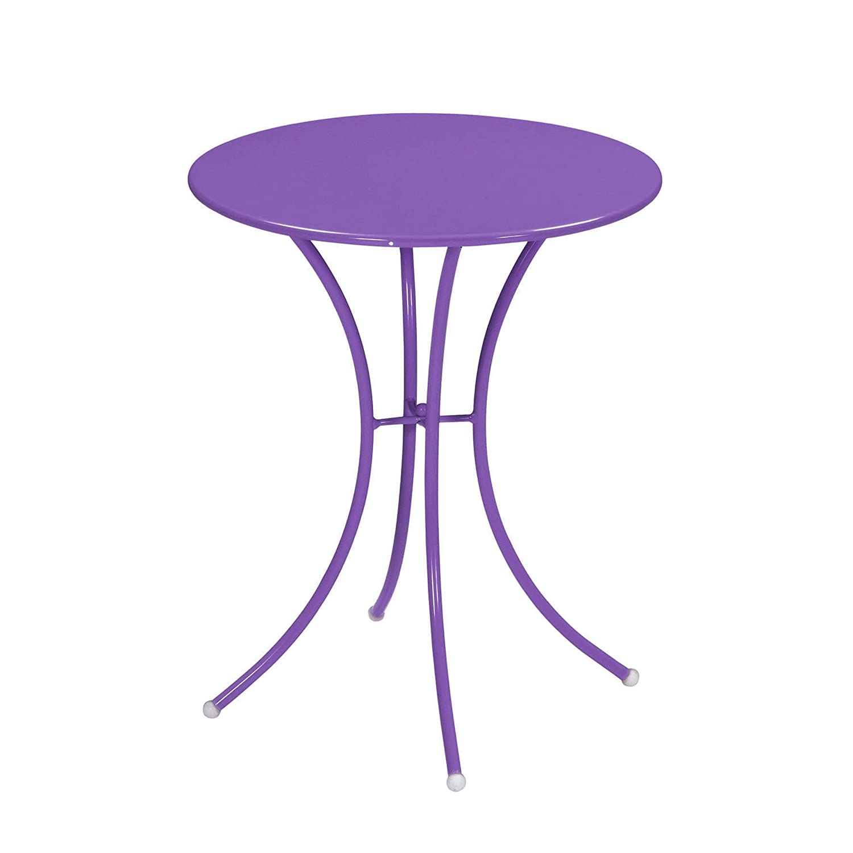 Emu 309058200 Pigalle Tisch 905, ø 60 cm, pulverbeschichteter Stahl, lila