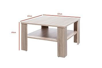 couchtisch noah tisch wohnzimmertisch quadratisch mit. Black Bedroom Furniture Sets. Home Design Ideas