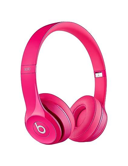 Beats by Dr. Dre Solo2 Casque Audio - Rose foncé - Avec câble