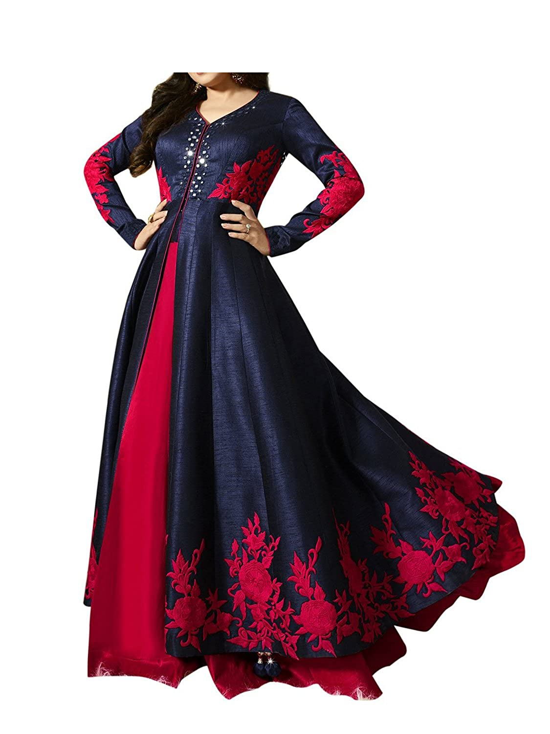 Deals on Royal Export Women's Silk Salwar suit