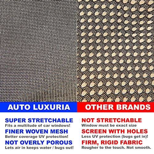 Auto luxuria universal car window sunshade covers w for 2 box auto con stanza bonus