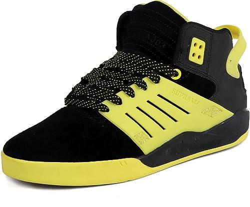 Supra Skytop 3 Black Black Yellow