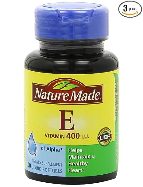 海淘维生素E:Nature Made纯天然维生素E 400IU