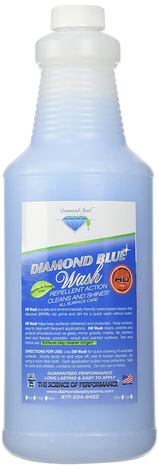 Amazon.com: Diamond Blue Repellent Cleaner & Wash 32oz Best Glass ...