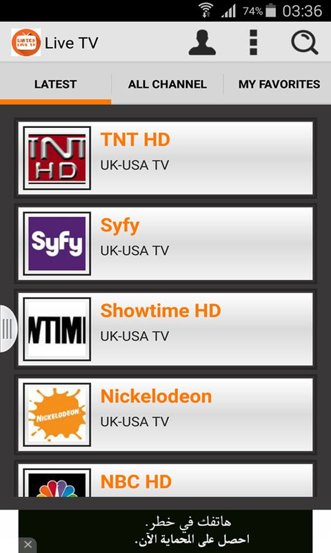 Amazon.com: Watch Live TV: Appstore for Android