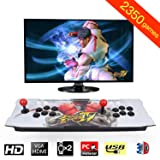 MeetingU Arcade Game Console 2350 Games in Pandoras 3D Box, 2 Players Joysticks Arcade Machine 1920x1080 HD Output Support for TV Laptop PS4 Nintendo (style2) (Color: Style2)