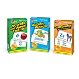Trend Action Words, Vowel & Vowel Teams, & Consonants Bundle