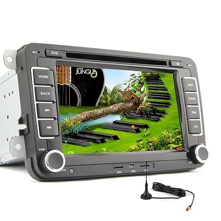 AUX Pupug Dual Core VW Autoradio Android 4.2 coches Lecteur DVD GPS del coche de 7 pulgadas De Video tš¢ctil capacitiva LCD Para Volkswagen stšŠršŠo Radio TV numšŠrique Subwoofer ACCESORIO Motors Veh&s
