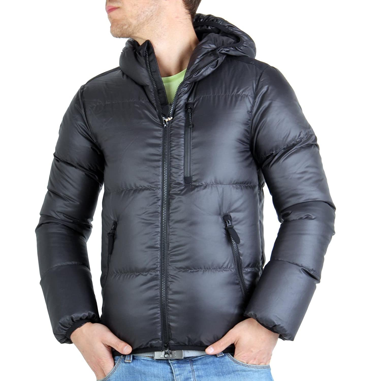 MUSEUM Herren Winter Daunenjacke Air Granit Black MU21575
