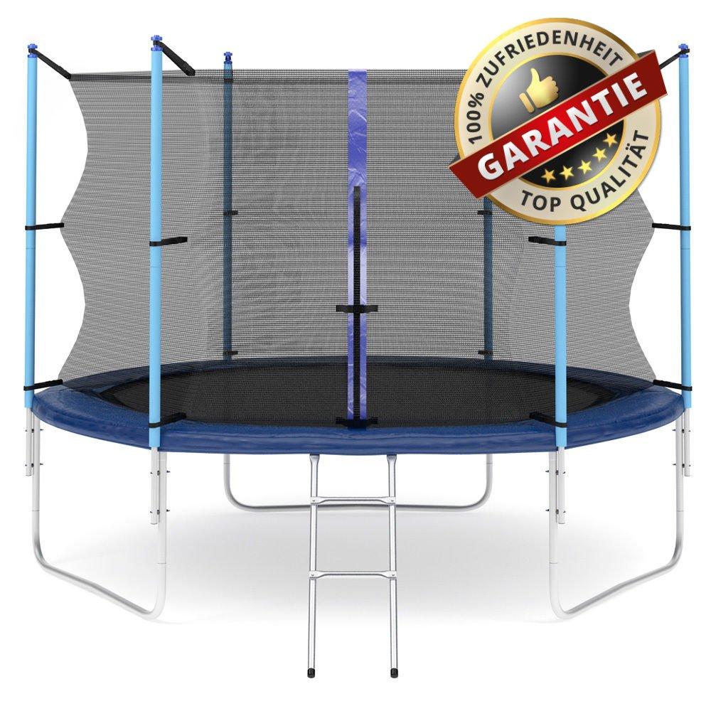 Hop-Sport Gartentrampolin 305 cm Komplettset mit Sicherheitsnetz und Leiter Innennetz kaufen
