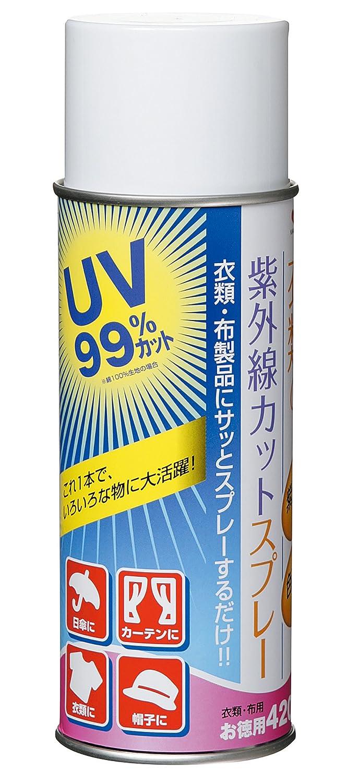 KAWAGUCHI 衣類の紫外線カットースプレー420ml
