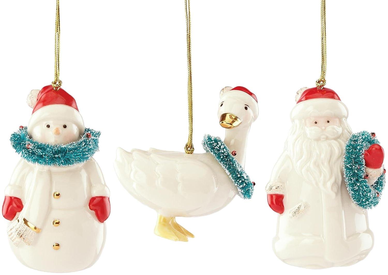 Set 3 Lenox Christmas Ornaments $17.60 (regularly $60