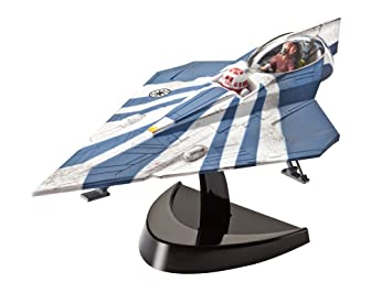 Revell Easykit - 06689 - Maquette D'aviation - Plo Koon's Jedi Starfighter - 34 Pièces