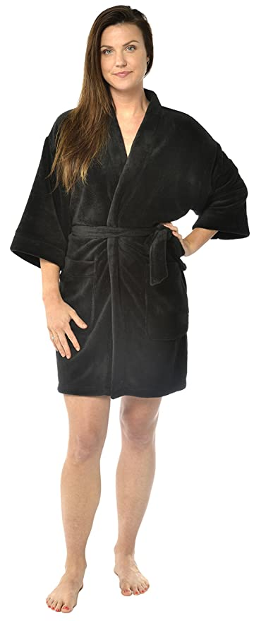 Women's plush short robes