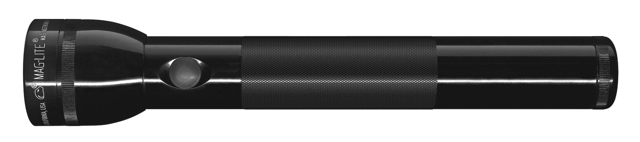 maglite led 3 cell d flashlight black black ebay. Black Bedroom Furniture Sets. Home Design Ideas