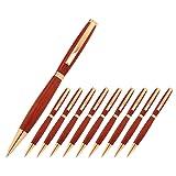 Legacy Woodturning, Slimline Pen Kit, Many Finishes, Multi-Packs (Color: Copper)
