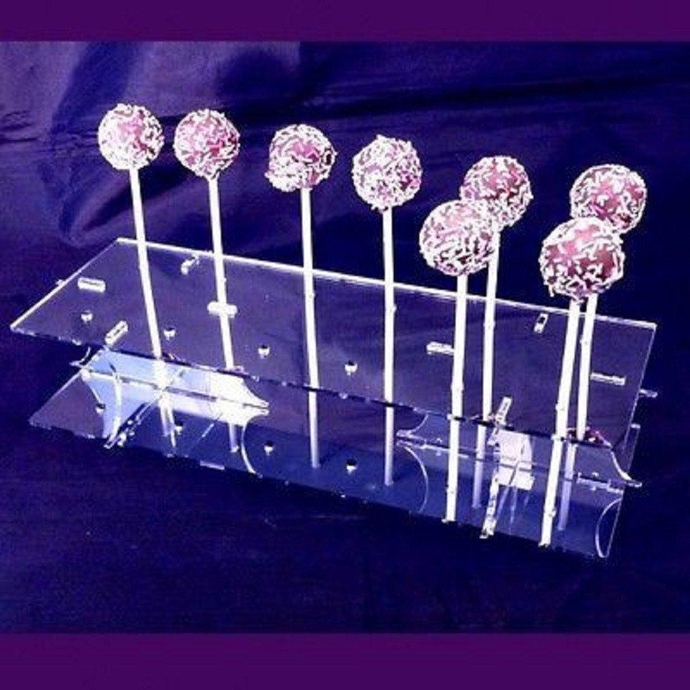 Mirrored Rectangle Cake Pop Stand milka cake