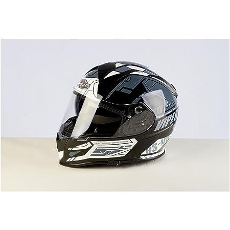 Casque de moto Viper RSV8 stéréo intégral Union Jack