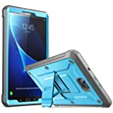 Galaxy Tab A 10.1 Case, SUPCASE [Heavy Duty] [Unicorn Beetle PRO Series] Full-body Rugged Protective Case with Built-in Screen Protector for Samsung Galaxy Tab A 10.1 inch (2016) (Blue/Black) (Color: Blue/Black, Tamaño: 10.1 Inch)