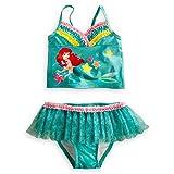 Disney Store Ariel The Little Mermaid 2-Piece Swimsuit Size Small 5/6 (5T)