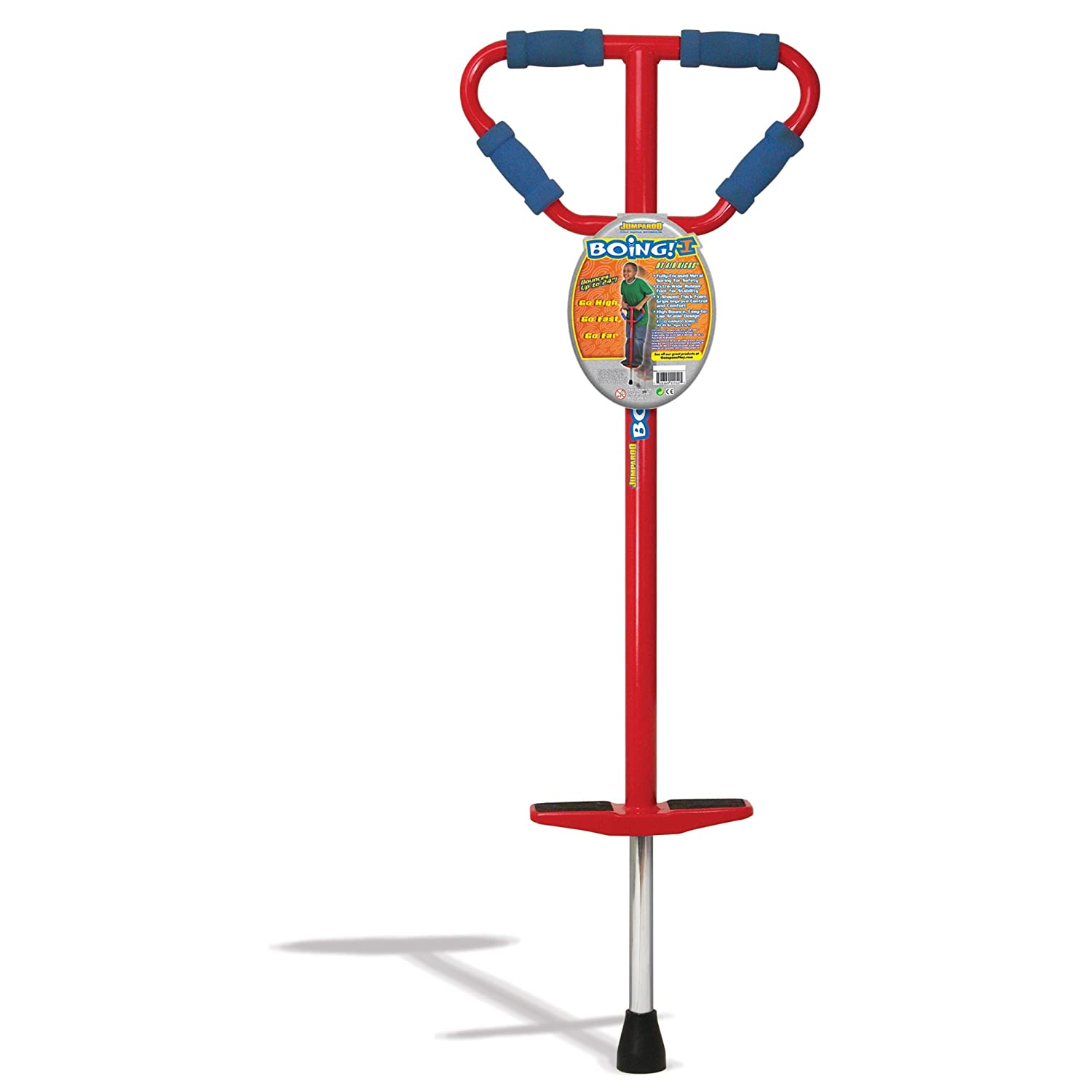 Medium Jumparoo Boing! I Pogo Stick by Air Kicks for Kids 44 to 86 Lbs.