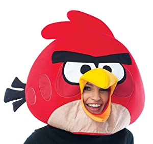 Red Angry Bird Costume Mask