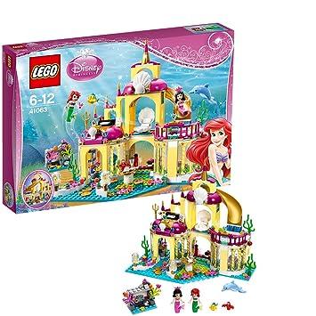 Lego Disney Princesstm - 41063 - Jeu De Construction - Le Royaume Sous -marin D'ariel