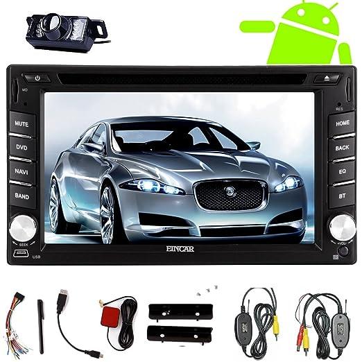 FM / AM sans fil Volver Cš¢mara fotogrš¢fica incluida Motors Eincar radio GPS de coche DVD estšŠreo reproductor d'audio universelle de para 2 DIN vidšŠo de voiture Jefe Unidad GPS Android 4.2 En Cubierta