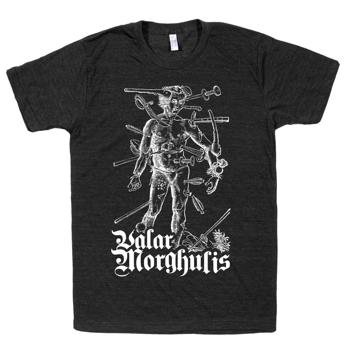 Valar Morghulis Athletic Black T-Shirt