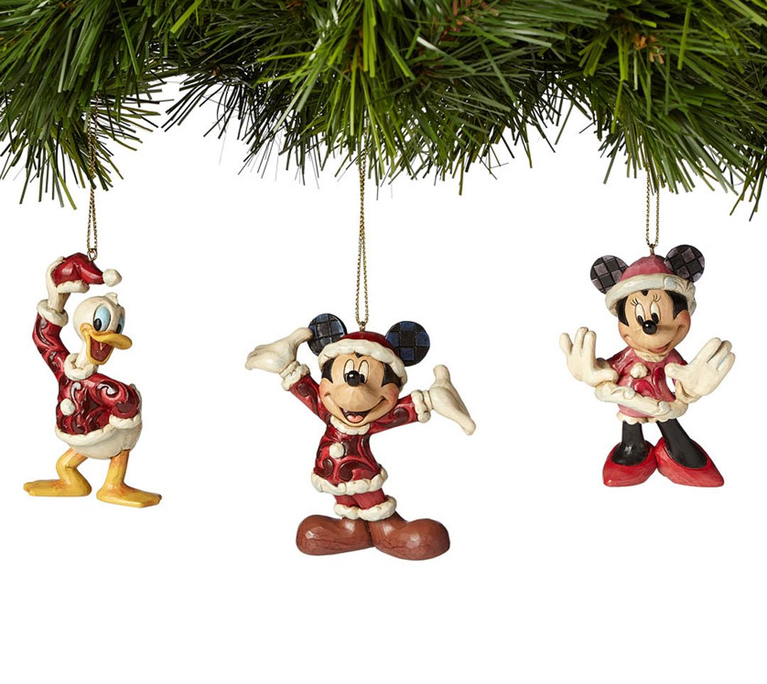 Mickey, Minnie, and Donald Christmas Ornament Gift for Disney Lovers