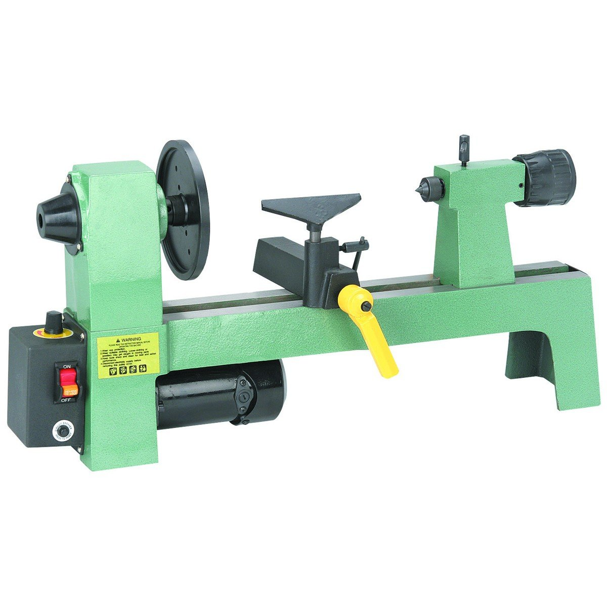 Bench Top Wood Lathe 8in x 12in high quality mt3 lathe real time center three bearing design tapered lathe power tools precision lathe bearing tool accessories