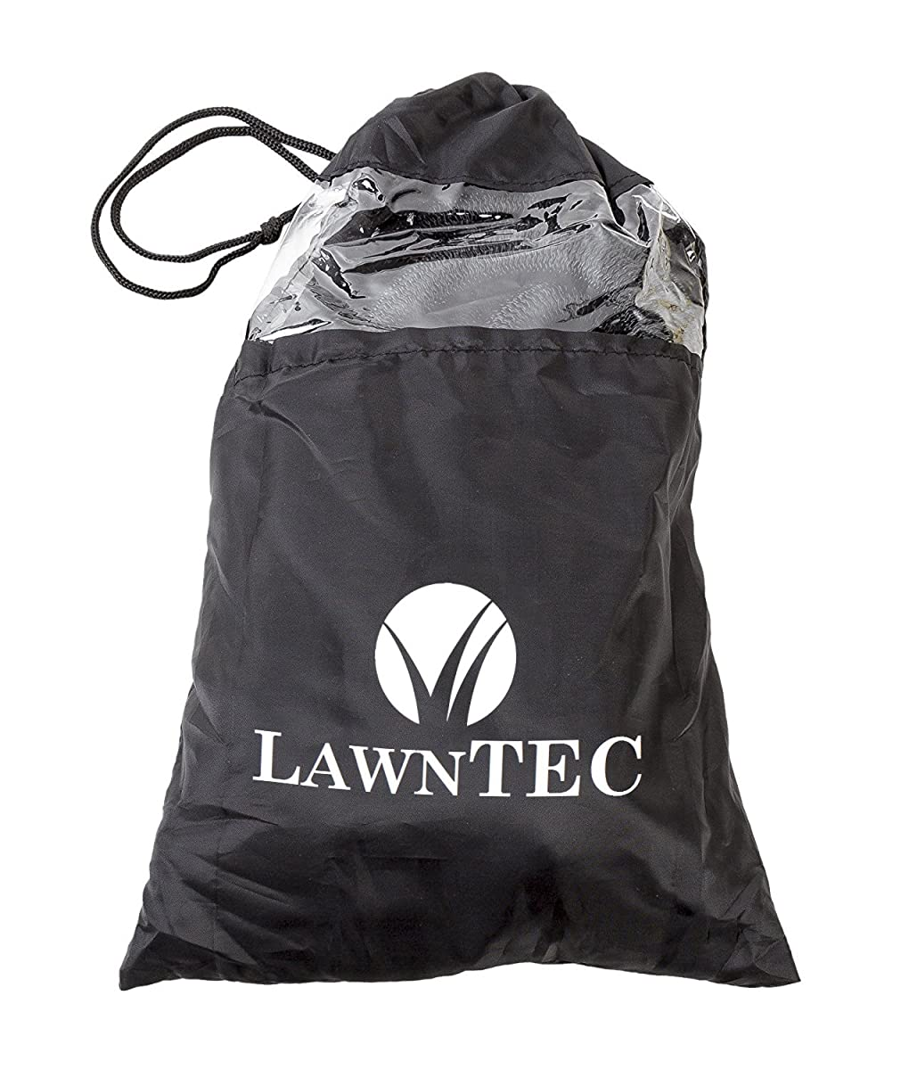 LawnPRO 50' Expanding Garden Hose. Kink-Free. 5,000 Denier Woven Casing. Copper Fittings. Steel Assembly Clamps. 12 Month Manufacturers Warranty. + Free Storage Bag