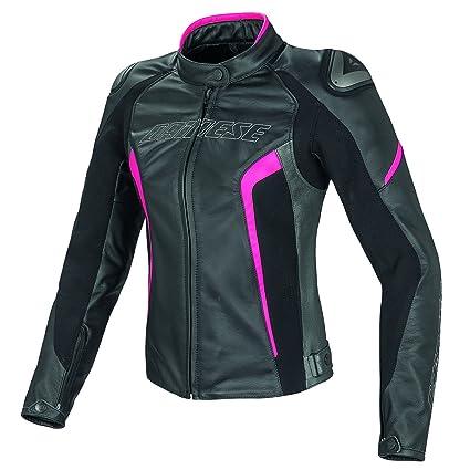Dainese 2533697_S14_40 Blouson Moto en Cuir Femme