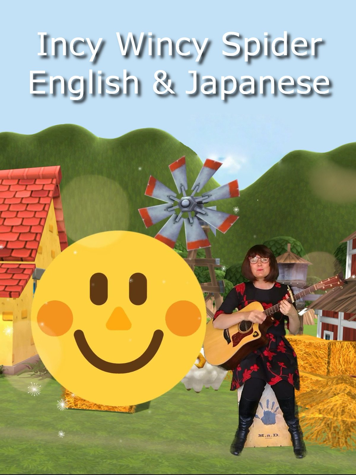 Incy Wincy Spider English & Japanese
