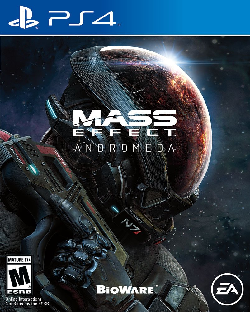 Playstation 4 Andromeda Mass Effect