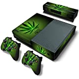 ModFreakz™ Console/Controller Vinyl Skin Set - Weed Leaf Marijuana for Xbox One Original