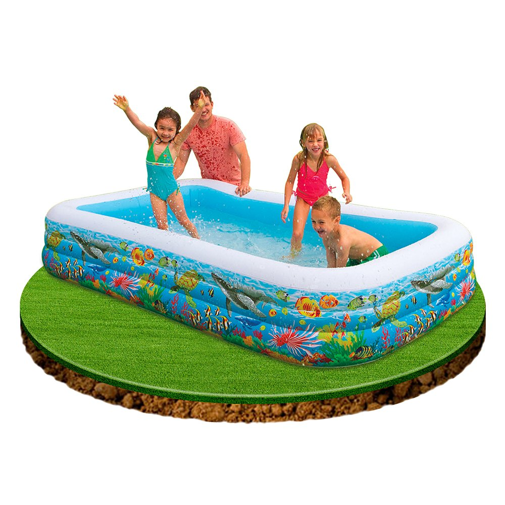 Intex inflatable swimming pool 120x72x22 price in for Intex pool 120 hoch