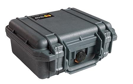 Pelican 1200 Case with Foam for Camera (Black)